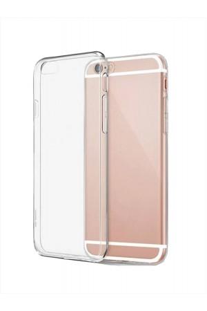 Чехол силиконовый для iPhone 6 Plus, прозрачный
