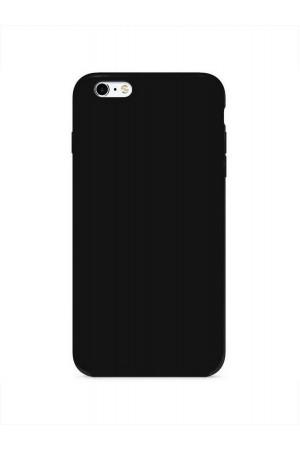 Чехол силиконовый для iPhone 6S Plus, черный