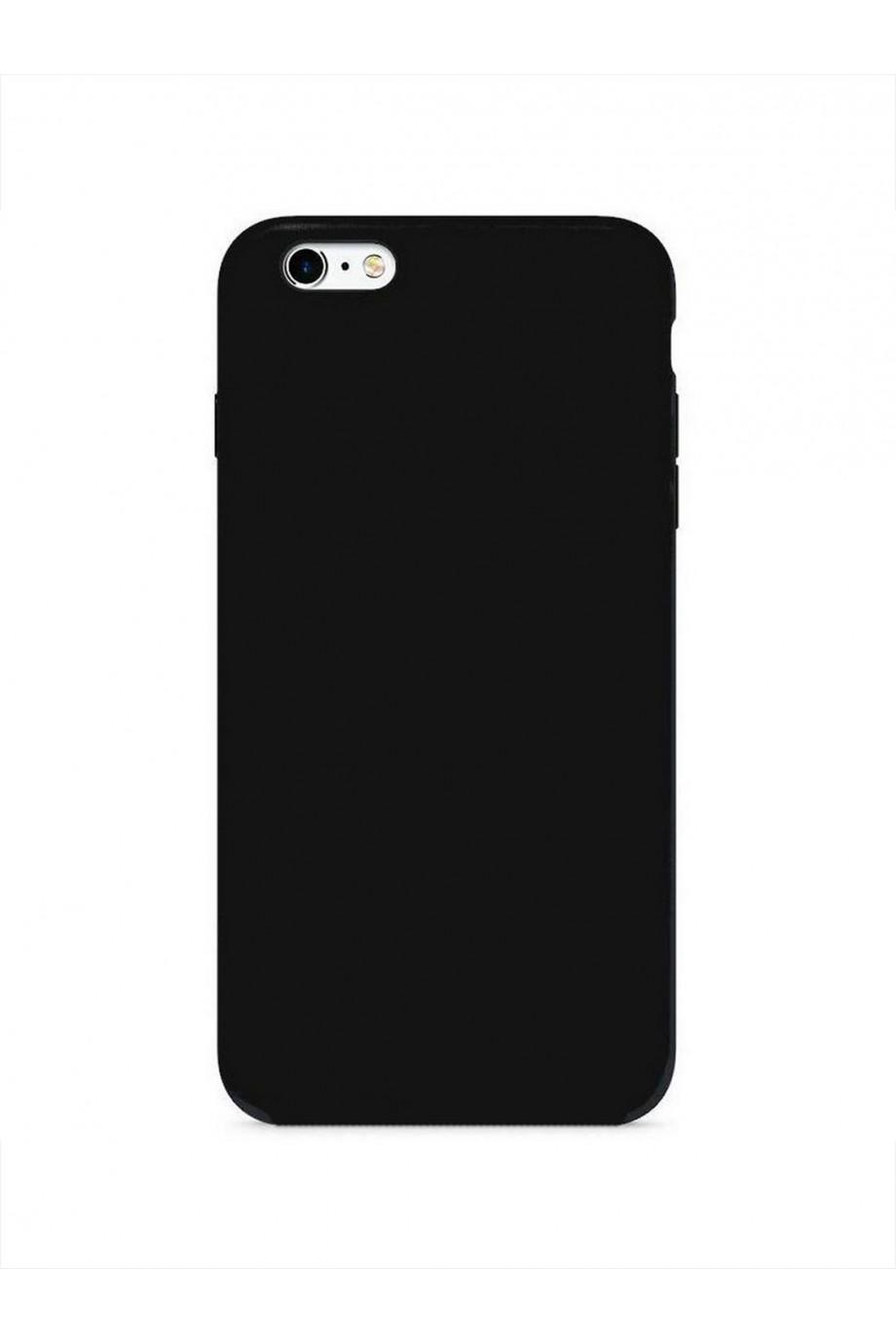 Чехол силиконовый Brauffen для iPhone 6 Plus, черный