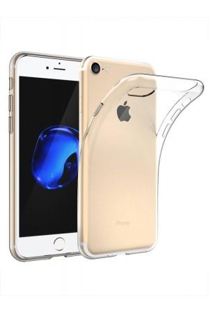 Чехол силиконовый для iPhone 7 Plus, прозрачный