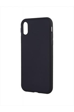 Чехол силиконовый для iPhone XR, черный