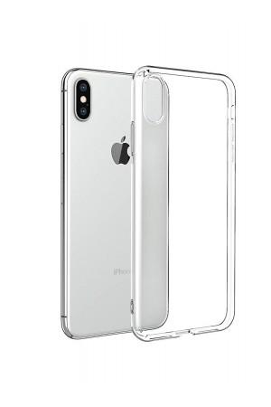 Чехол силиконовый для iPhone XS Max, прозрачный