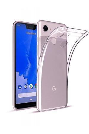 Чехол силиконовый для Google Pixel 3XL, прозрачный
