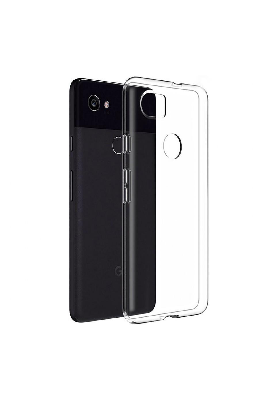 Чехол силиконовый силиконовый для Google Pixel 2 XL, прозрачный
