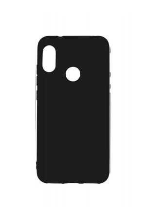 Чехол силиконовый для Huawei P Smart 2019 черный, матовый