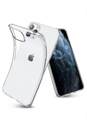 Чехол силиконовый для iPhone 11 Pro, прозрачный