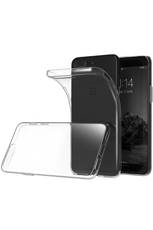 Чехол силиконовый для OnePlus 5, прозрачный