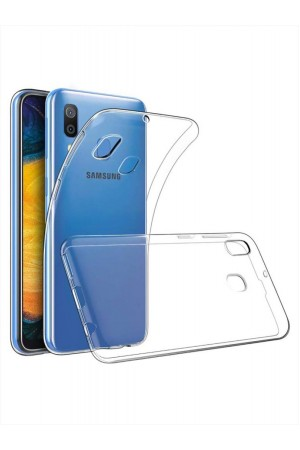 Чехол силиконовый для Samsung Galaxy A30, прозрачный
