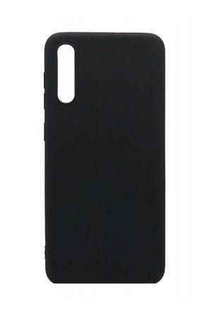 Чехол силиконовый для Samsung Galaxy A50, черный