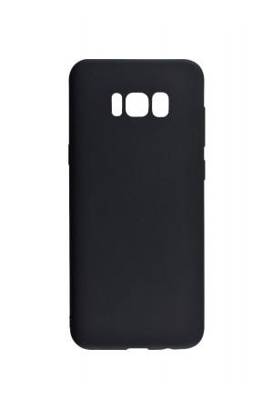 Чехол силиконовый для Samsung Galaxy S8 Plus, черный