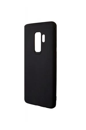 Чехол силиконовый Brauffen для Samsung Galaxy S9 Plus, Soft Touch, черный