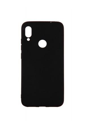 Чехол силиконовый для Xiaomi Redmi Note 7 Pro, черный, матовый