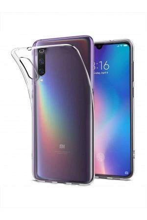 Чехол силиконовый для Xiaomi Mi 9, плотный, прозрачный