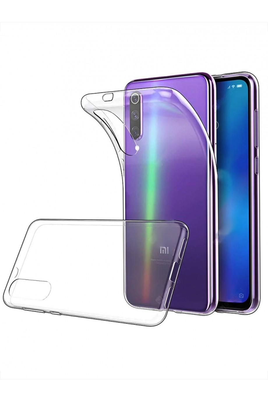 Чехол силиконовый для Xiaomi Mi 9 SE, прозрачный
