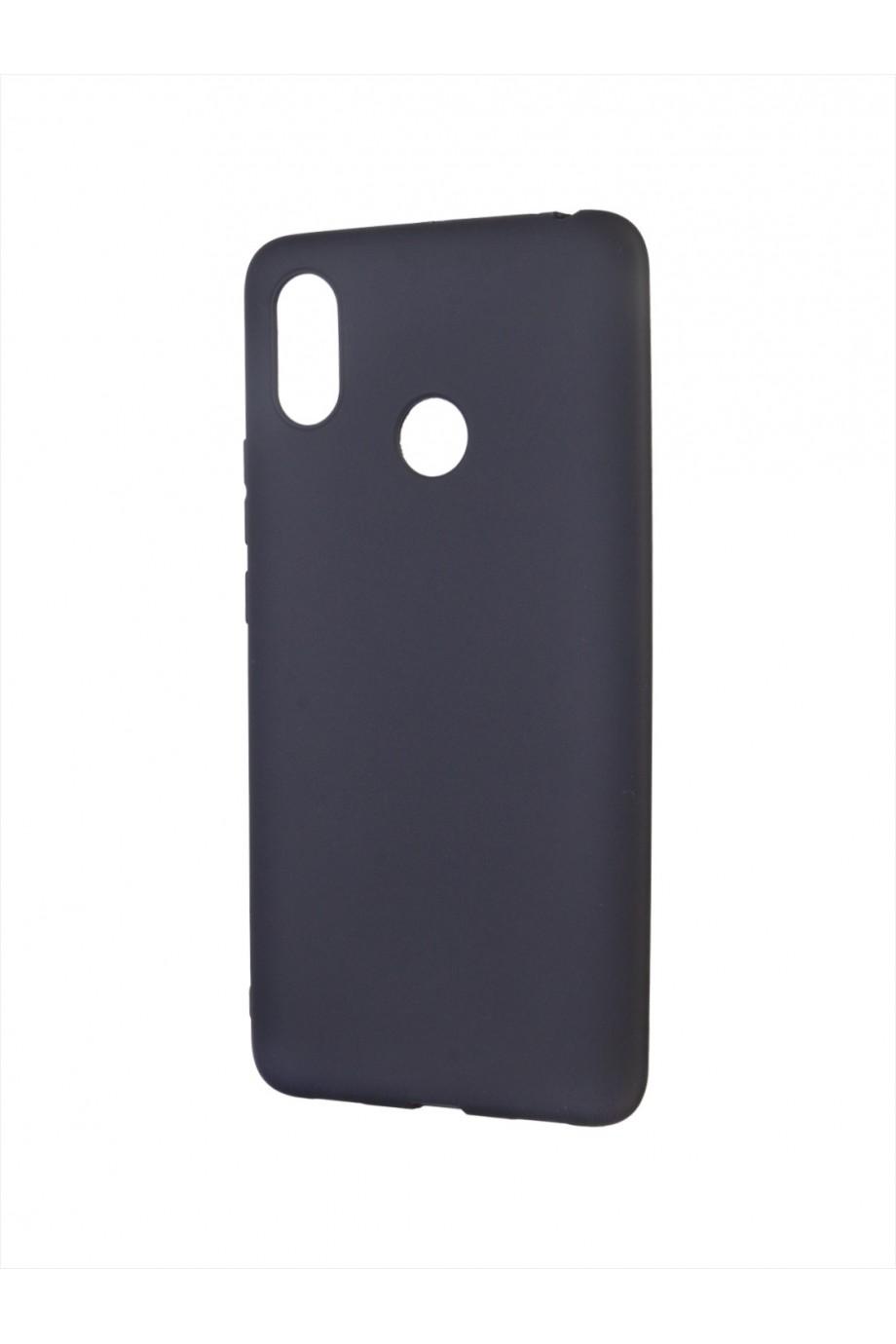 Чехол силиконовый для Xiaomi Mi Max 3, черный