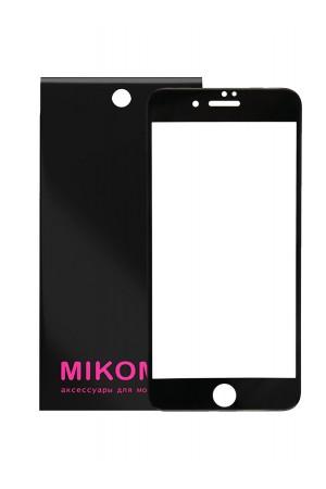 Защитное стекло 5D Mikomo для iPhone 6S, черная рамка, полный клей