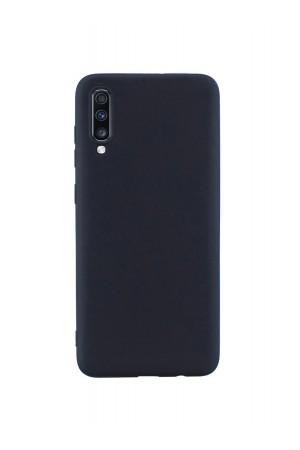 Чехол силиконовый для Samsung Galaxy A70, черный