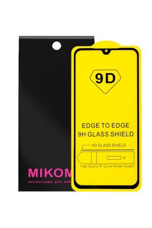 Защитное стекло 9D Mikomo для Xiaomi Mi 9 SE, черная рамка, полный клей