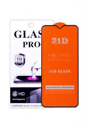 Защитное стекло 21D Glass Pro для Xiaomi Redmi Note 8, черная рамка, полный клей