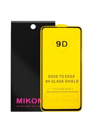 Защитное стекло 9D Mikomo для Xiaomi Redmi K20 Pro, черная рамка, полный клей
