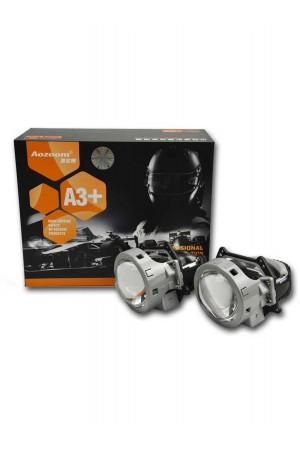Светодиодная линза Aozoom A3 Plus, 3.0 дюйма, 5000К, 2 шт