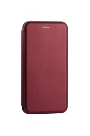 Чехол-книжка для Xiaomi Mi Max 3, вишневый