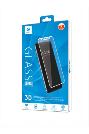 Защитное стекло 3D Mocolo для iPhone XS Max, черная рамка, полный клей