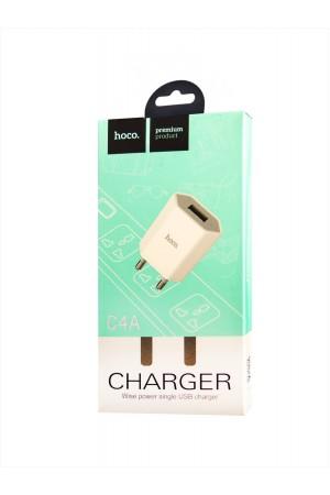 Зарядное устройство HOCO C4A, 1 USB, 1 А