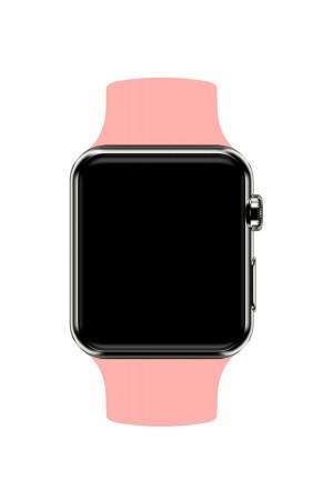 Силиконовый ремешок для Apple Watch 3 38 мм, розовый
