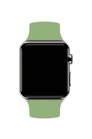 Силиконовый ремешок для Apple Watch 3 38 мм, фисташковый