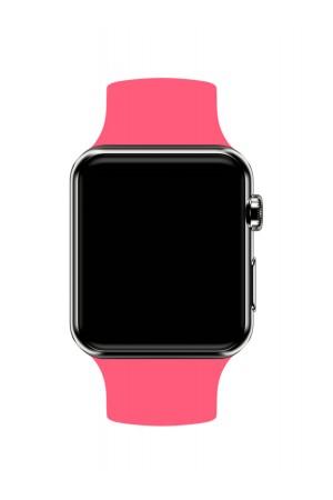 Силиконовый ремешок для Apple Watch 3 38 мм, коралловый