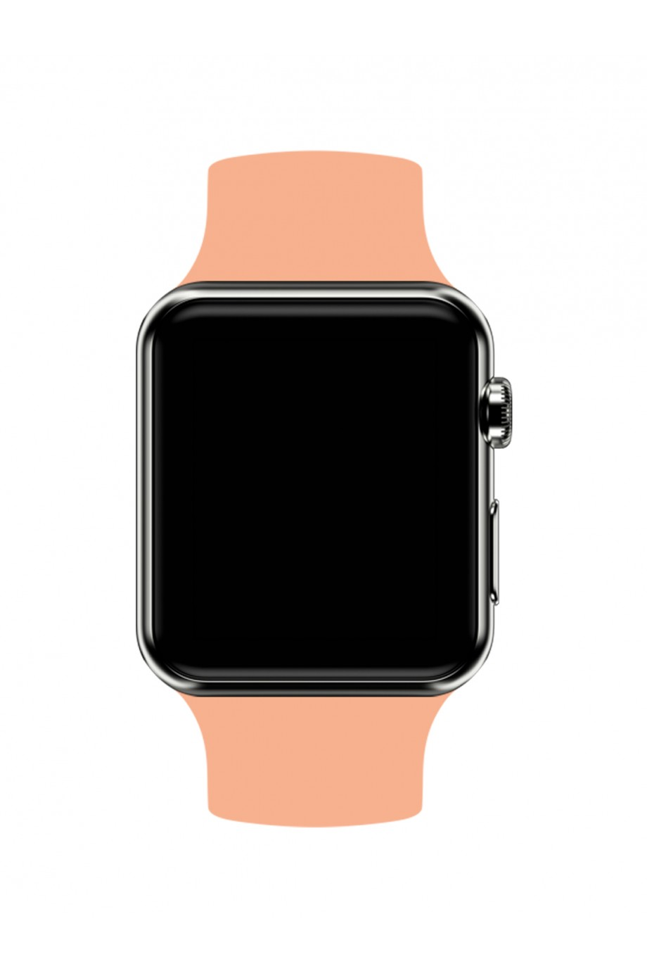 Силиконовый ремешок для Apple Watch 3 38 мм, персиковый