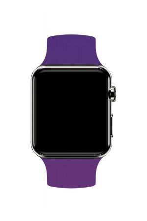 Силиконовый ремешок для Apple Watch 3 38 мм, фиолетовый