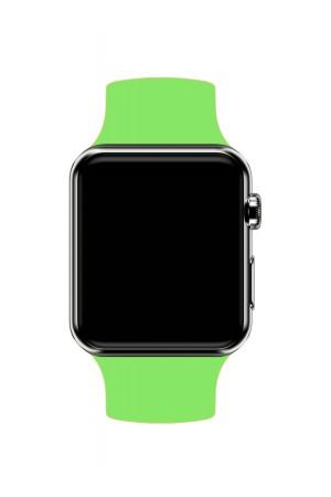 Силиконовый ремешок для Apple Watch 3 38 мм, салатовый