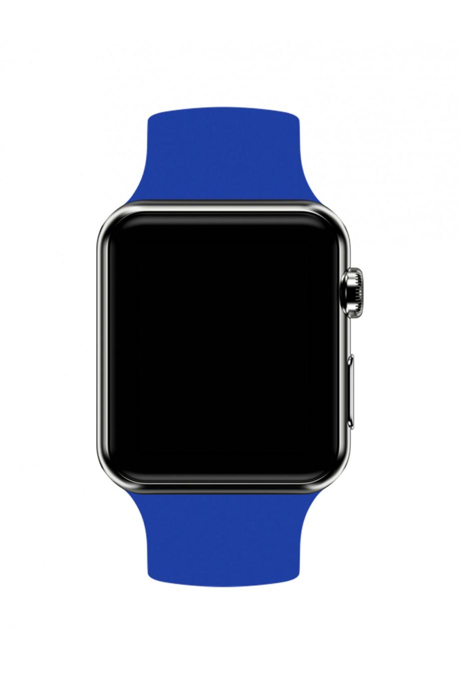 Силиконовый ремешок для Apple Watch 3 42 мм, синий