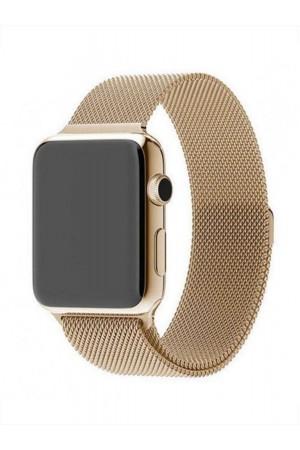 Металлический ремешок для Apple Watch 3 38 мм, золотой