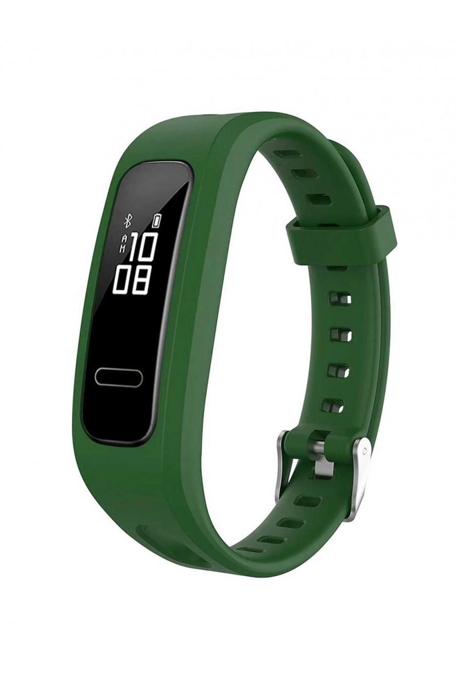 Силиконовый ремешок для Honor Band 4 Running, темно-зеленый