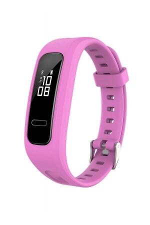 Силиконовый ремешок для Honor Band 4 Running, розовый
