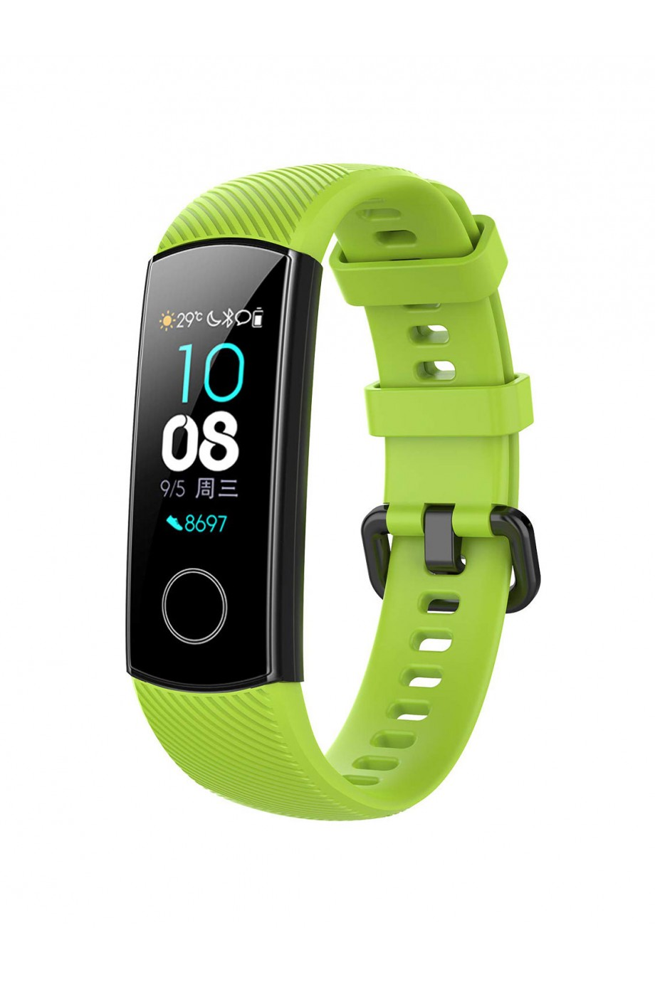Силиконовый ремешок для Honor Band 4, зеленый