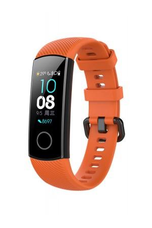 Силиконовый ремешок для Honor Band 5, оранжевый