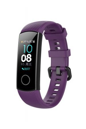 Силиконовый ремешок для Honor Band 4, фиолетовый