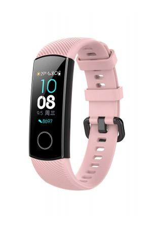 Силиконовый ремешок для Honor Band 4, нежно-розовый