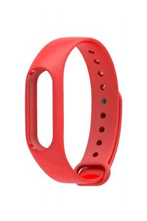 Силиконовый ремешок для Xiaomi Mi Band 2, красный