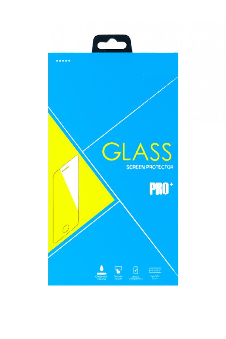 Защитное стекло 11D Glass Pro для Honor 10, черная рамка, полный клей