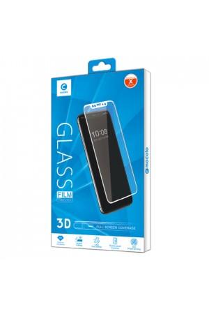 Защитное стекло 3D Mocolo для iPhone XR, черная рамка, полный клей