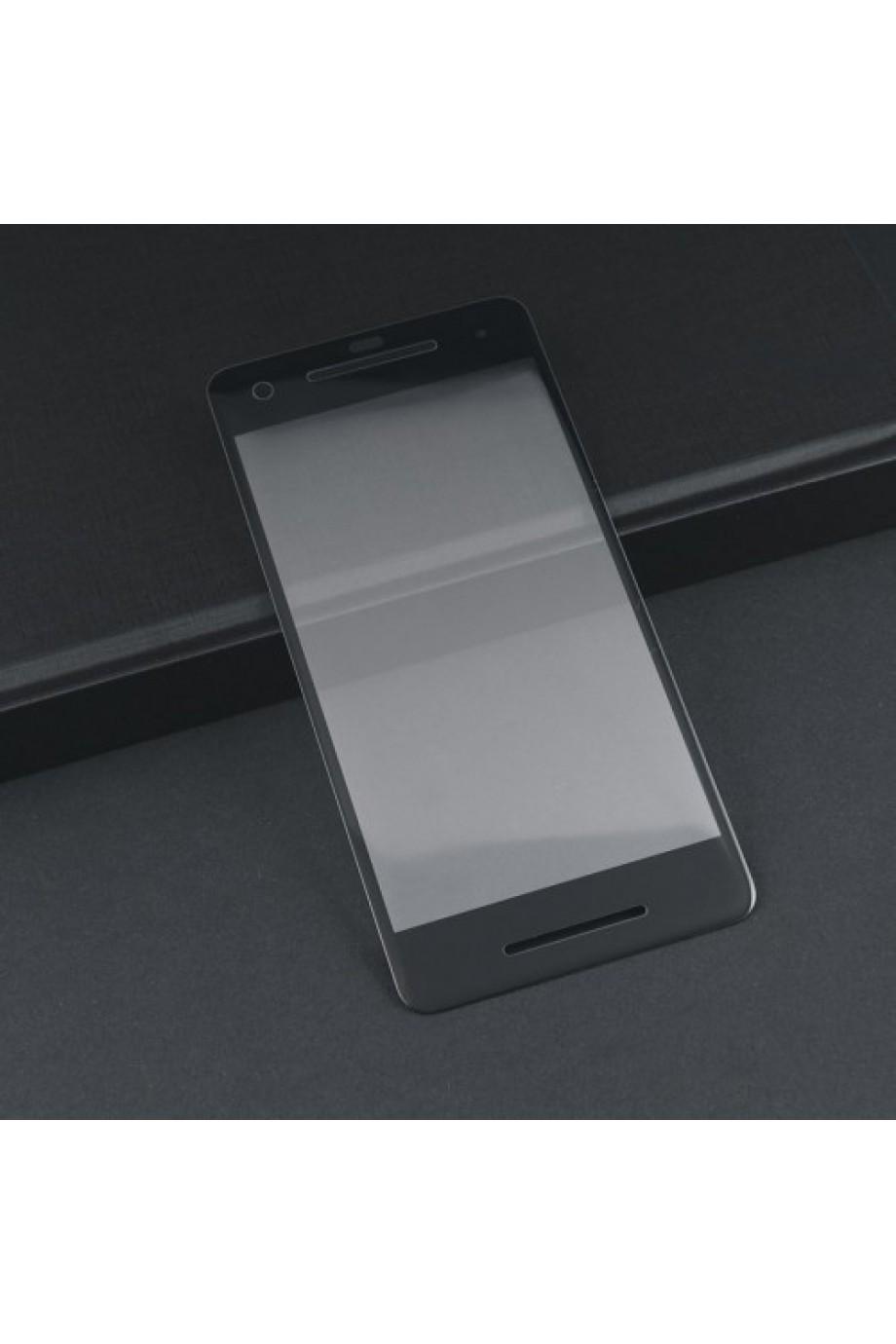 Защитное стекло 3D Mocolo для Google Pixel 2, черная рамка