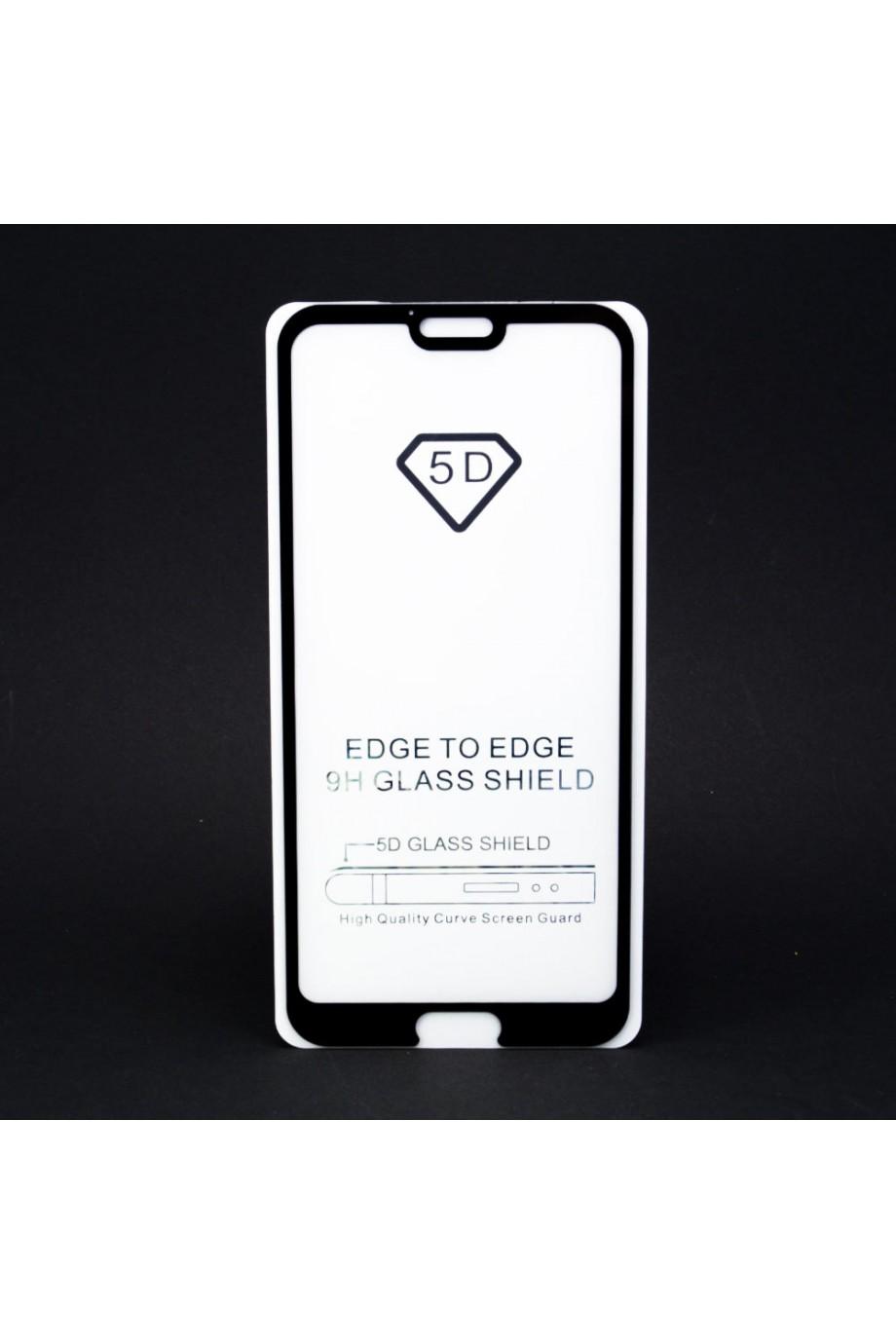Защитное стекло 5D Mikomo для Honor 10, черная рамка, полный клей