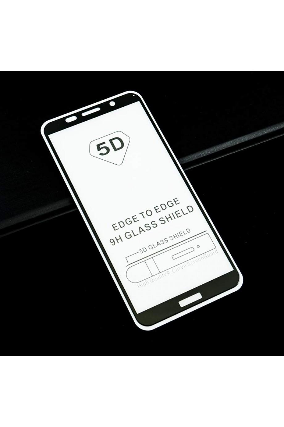 Защитное стекло 5D Mikomo для Honor 7A, черная рамка, полный клей, mk27