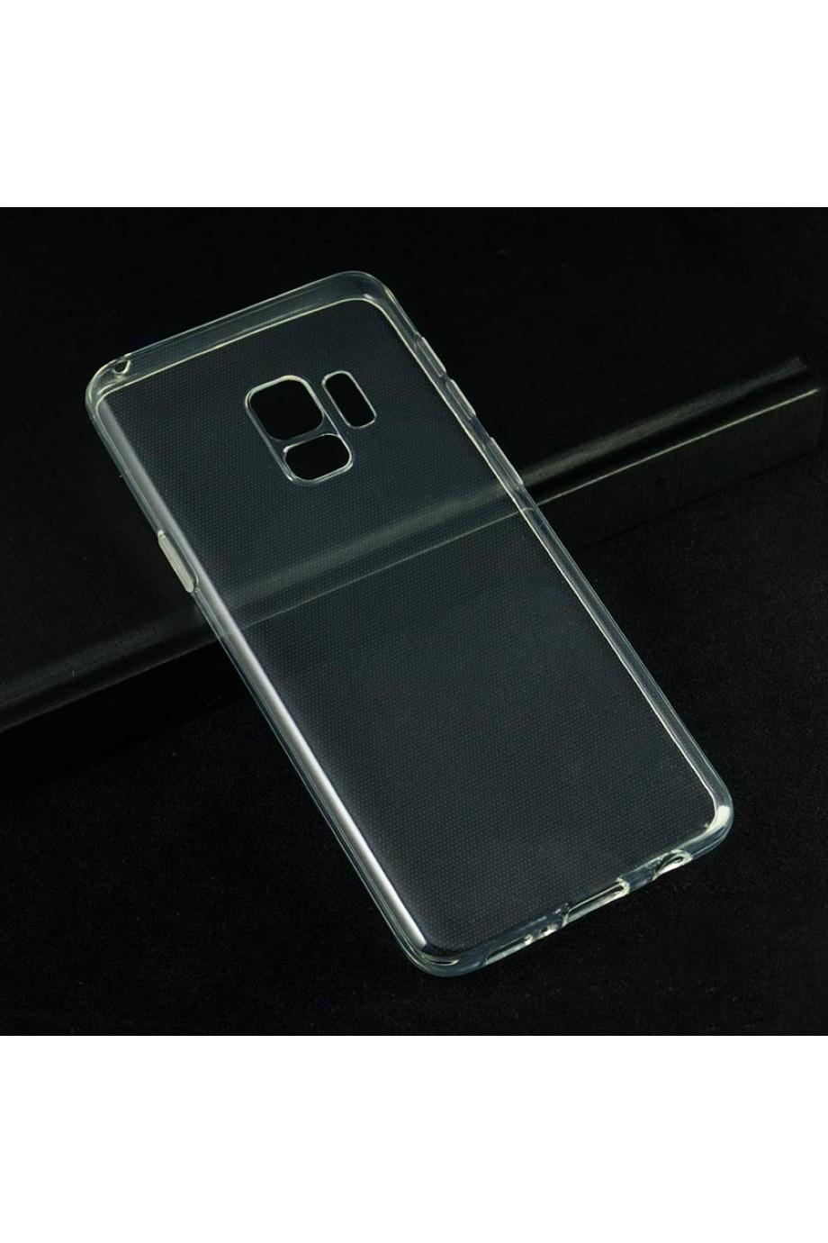 Чехол силиконовый для Samsung Galaxy S9, прозрачный