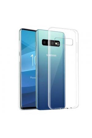 Чехол силиконовый для Samsung Galaxy S10e, прозрачный